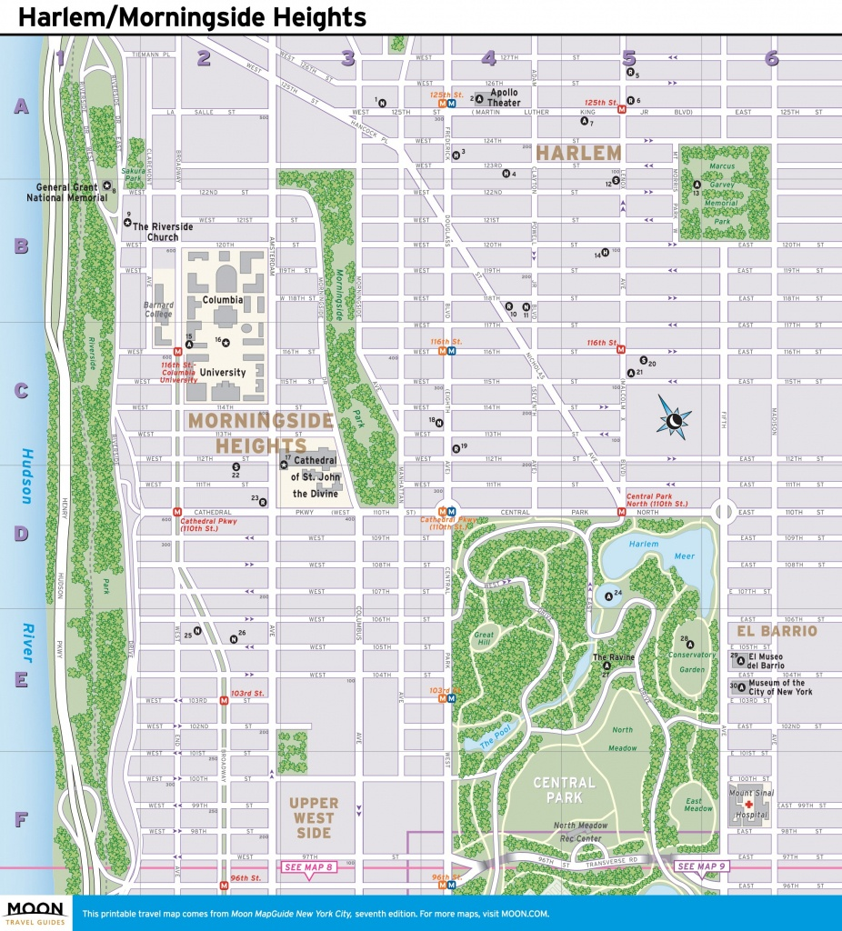 Nyc Walking Map Printable (88+ Images In Collection) Page 2 - Nyc Walking Map Printable