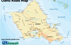 Oahu Maps – Printable Driving Map Of Kauai