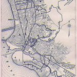 Oakland And Berkeley Map 1917 | I Hella Love Oakland, Berkeley   Oakland California Map