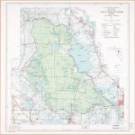 Ocala National Forest, Florida. | Library Of Congress   National Forests In Florida Map