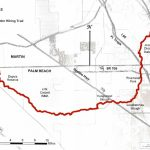 Ocean To Lake Hiking Trail   Hobe Sound Florida Map