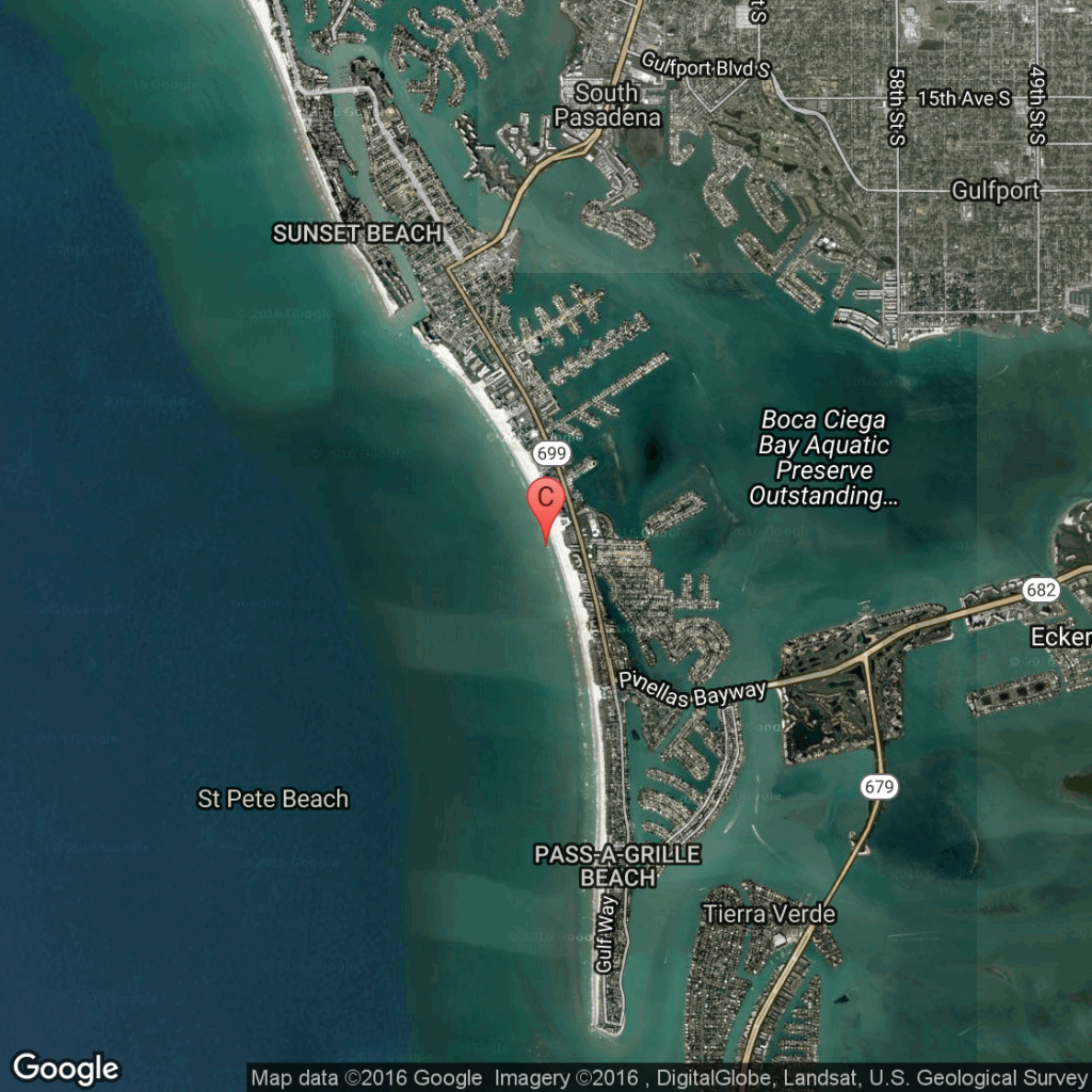 Oceanfront Hotels In St. Pete Beach, Florida | Usa Today - Map Of Hotels On St Pete Beach Florida
