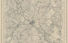 Official Map Of Dallas County, Texas | Library Of Congress – Map Records Dallas County Texas