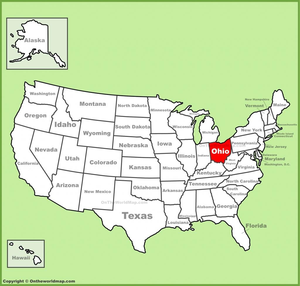 Ohio State Maps | Usa | Maps Of Ohio (Oh) - Ohio State Map Printable