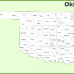 Oklahoma County Map   Printable Map Of Oklahoma