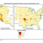 Oklahoma Earthquakes: Usgs Hazard Map Shows Risks | Time   Usgs Recent Earthquake Map California