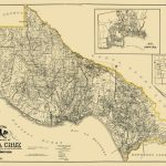 Old County Map   Santa Cruz California Landowner 1906   Where Is Santa Cruz California On The Map