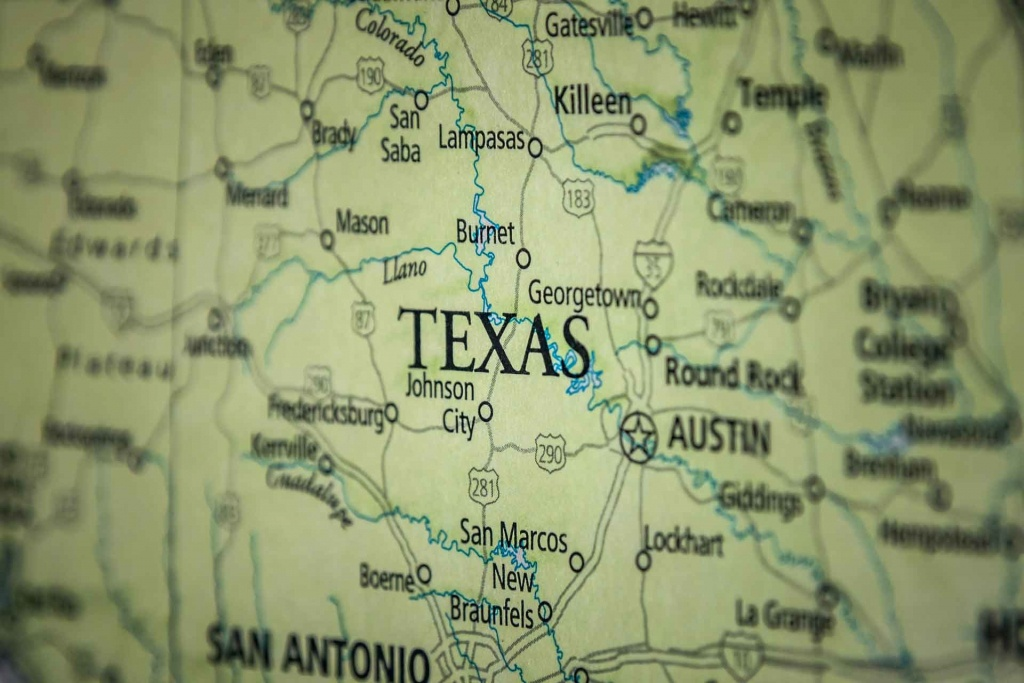 Old Historical City, County And State Maps Of Texas - Texas Road Map Free