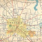Old Houston Maps | Houston Past   Map Records Of Harris County Texas