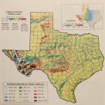 Old Texas Topographic Prominence Map Shows You Where To Find The   Texas Elevation Map By County