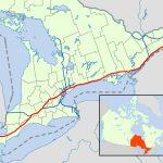 Ontario Highway 401   Wikipedia   Toronto California Map