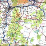 Oregon Road Map   Printable State Road Maps