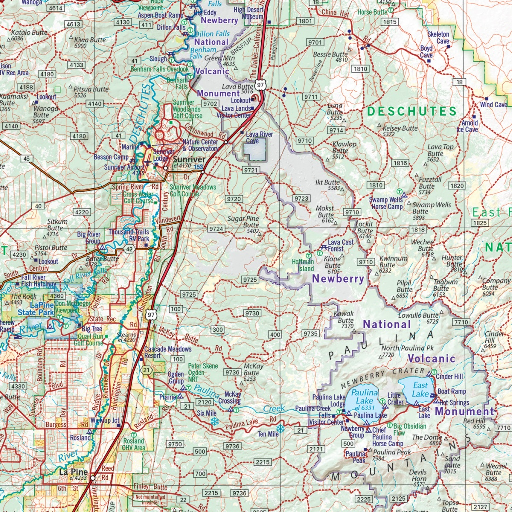 Oregon Road & Recreation Atlas — Benchmark Maps - Benchmark Maps California