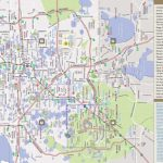 Orlando Florida Street Map And Travel Information | Download Free   Street Map Of Orlando Florida