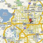 Orlando, Florida – Usa | Travel Featured   Road Map To Orlando   Road Map Of Central Florida