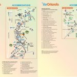 Orlando International Drive Hotel Map   Map Of Orlando Florida International Drive