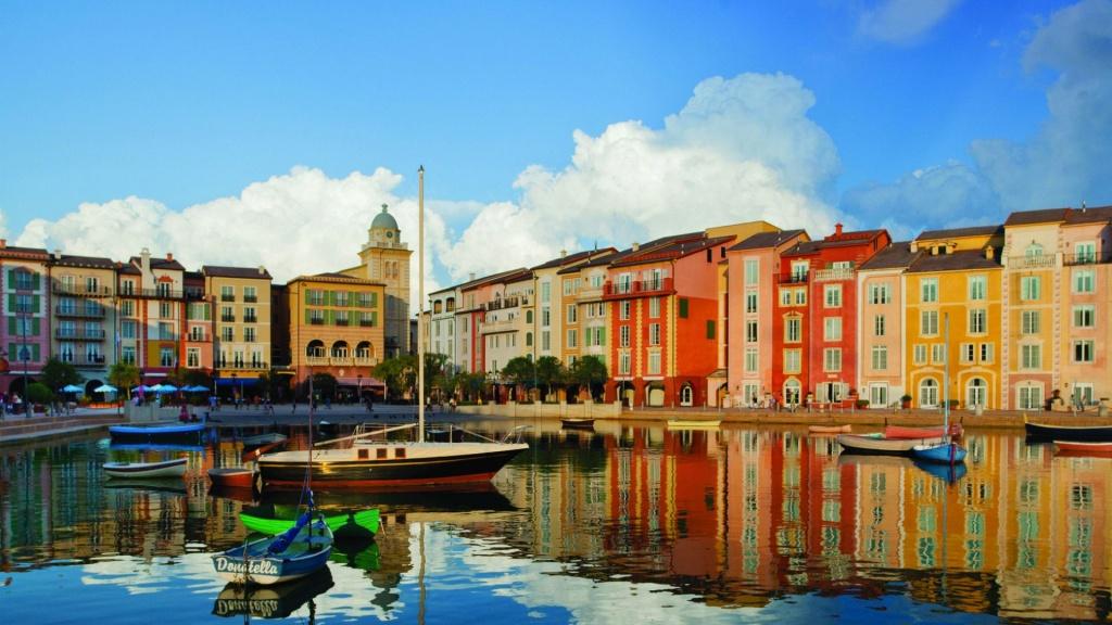 Orlando Luxury Resorts | Loews Portofino Bay At Universal Studios - Portofino Florida Map