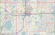 Road Map Of Central Florida