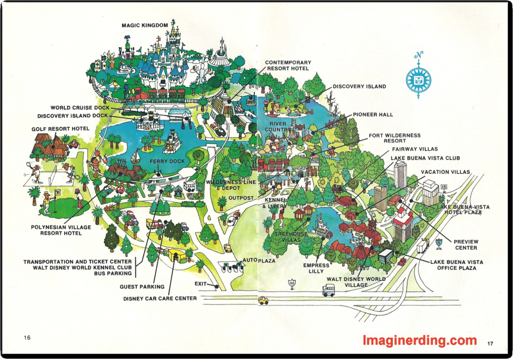 Orlando Walt Disney World Resort Map In Ellstrom Me At 9 - World - Disney World Florida Resort Map
