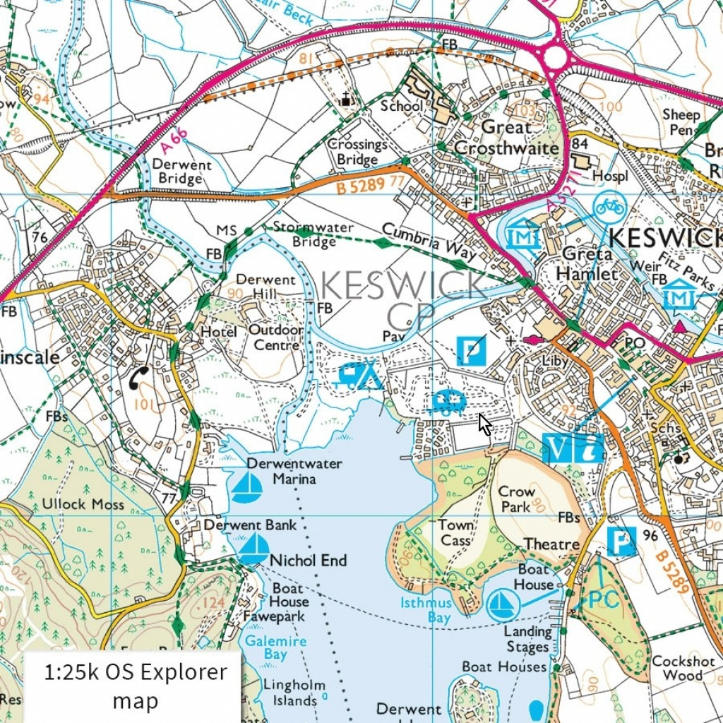 Os Maps 12-Month Premium Subscription. Online Route Planning And - Printable Os Maps