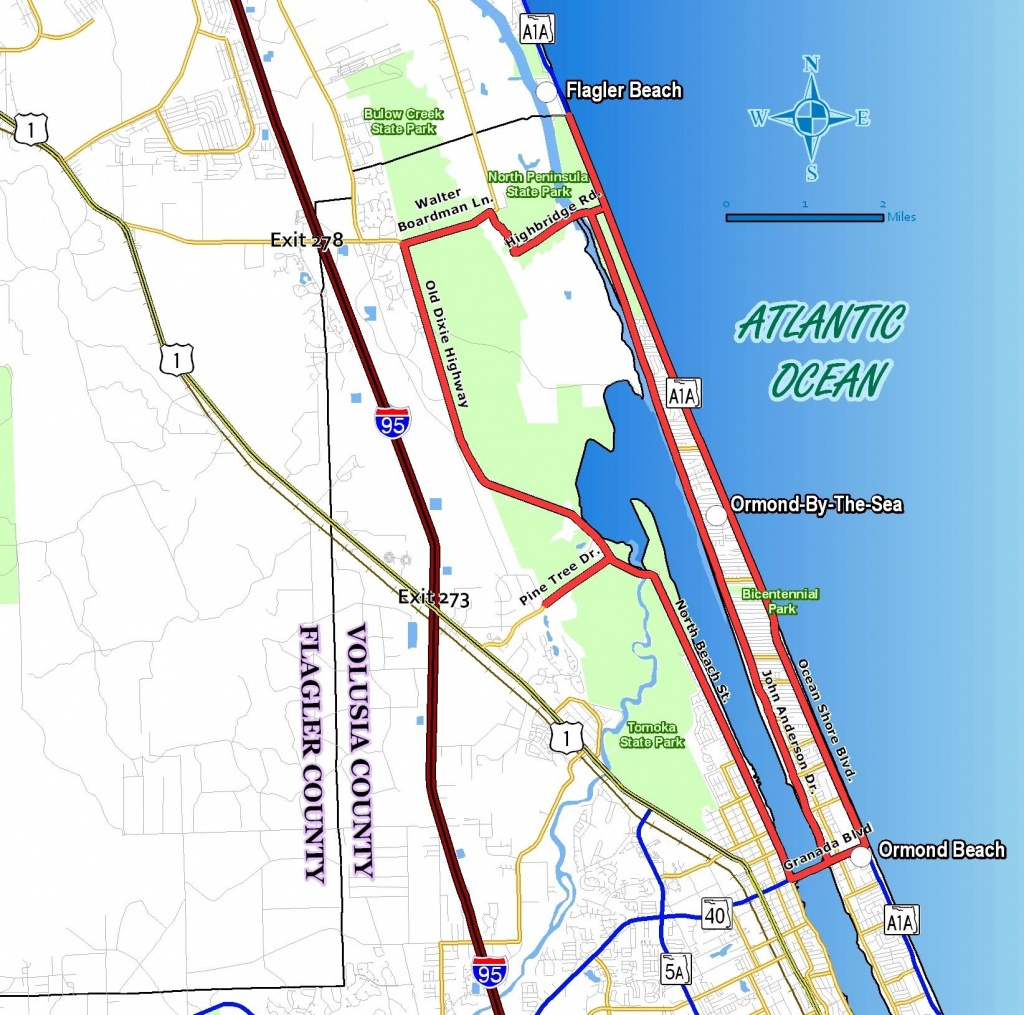 Oslt_Home - Street Map Of Ormond Beach Florida