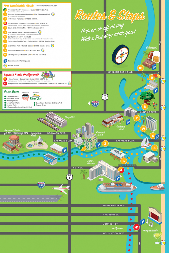 Our Schedule - Street Map Of Fort Lauderdale Florida