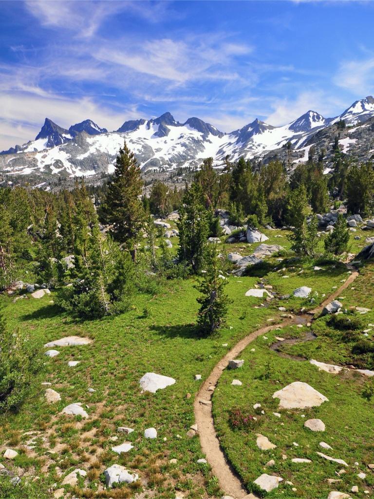 Pacific Crest Trail - Wikipedia - California Hiking Map