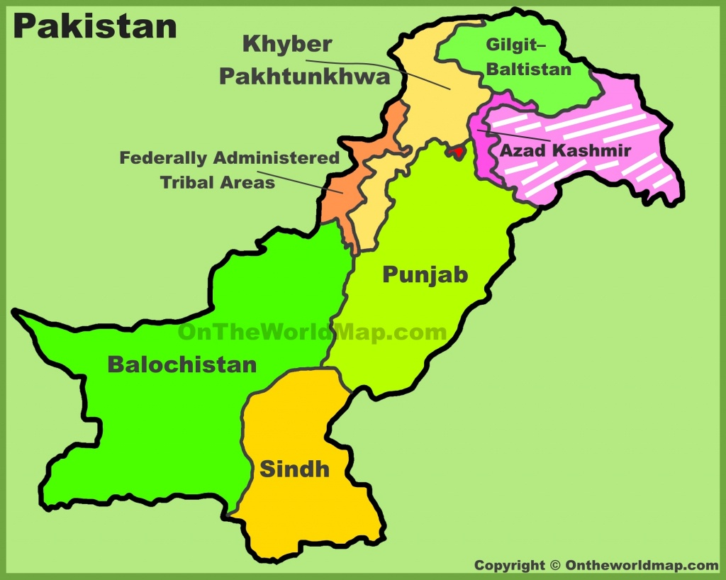 Pakistan Maps | Maps Of Pakistan - Printable Map Of Pakistan