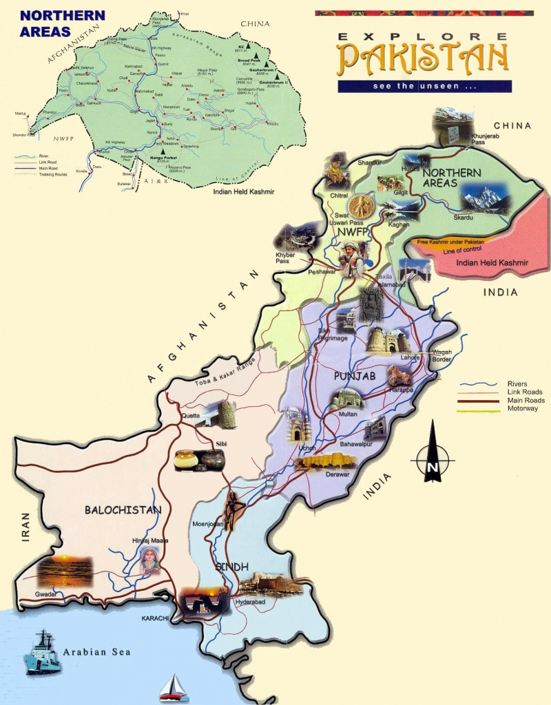 Pakistan Maps | Printable Maps Of Pakistan For Download - Printable Map Of Pakistan