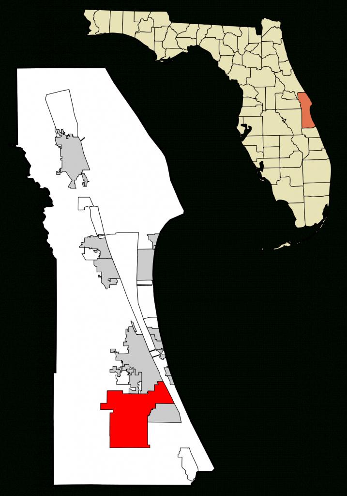 Palm Bay, Florida - Wikipedia - Palm City Florida Map