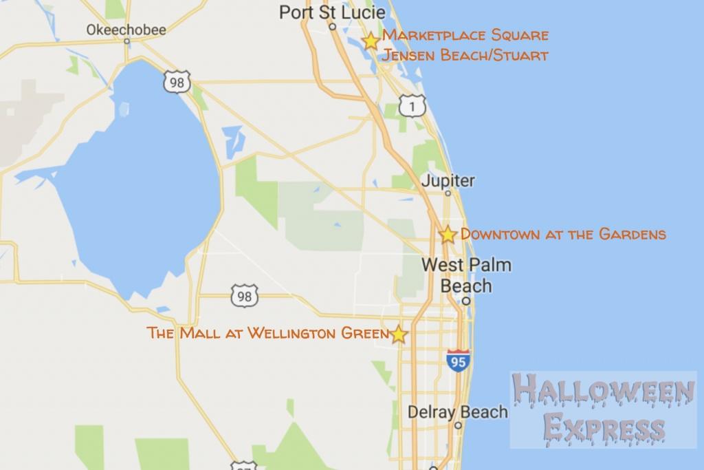 Palm Beach Gardens Florida Map - Gammoe - Palm Beach Gardens Florida Map