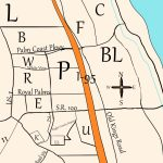 Palm Coast's Crazy Sections – I Love Palm Coast   Florida Section Map