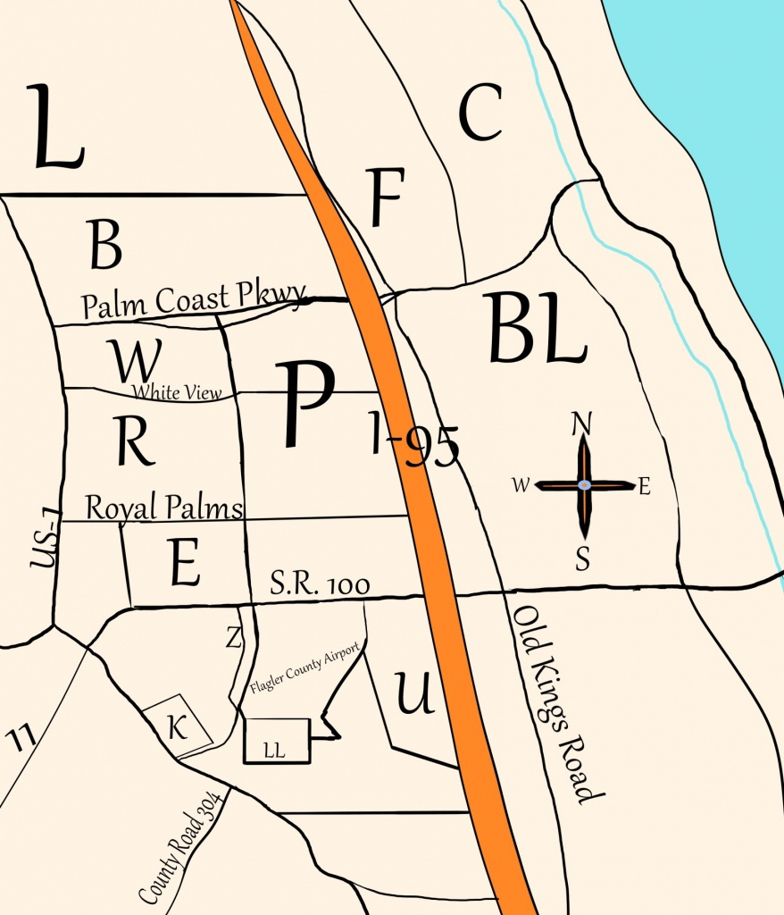 Palm Coast's Crazy Sections – I Love Palm Coast - Where Is Palm Coast Florida On The Map