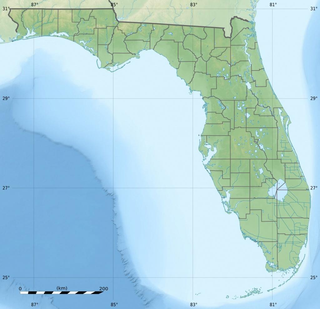 Palmetto Estuary Preserve - Wikipedia - Palmetto Florida Map