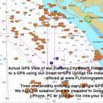 Panama City Florida Fishing Map   Fishing   Panama City Panama   Florida Sportsman Fishing Maps