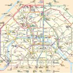 Paris Attractions Map Pdf   Free Printable Tourist Map Paris, Waking   Printable Map Of Paris France