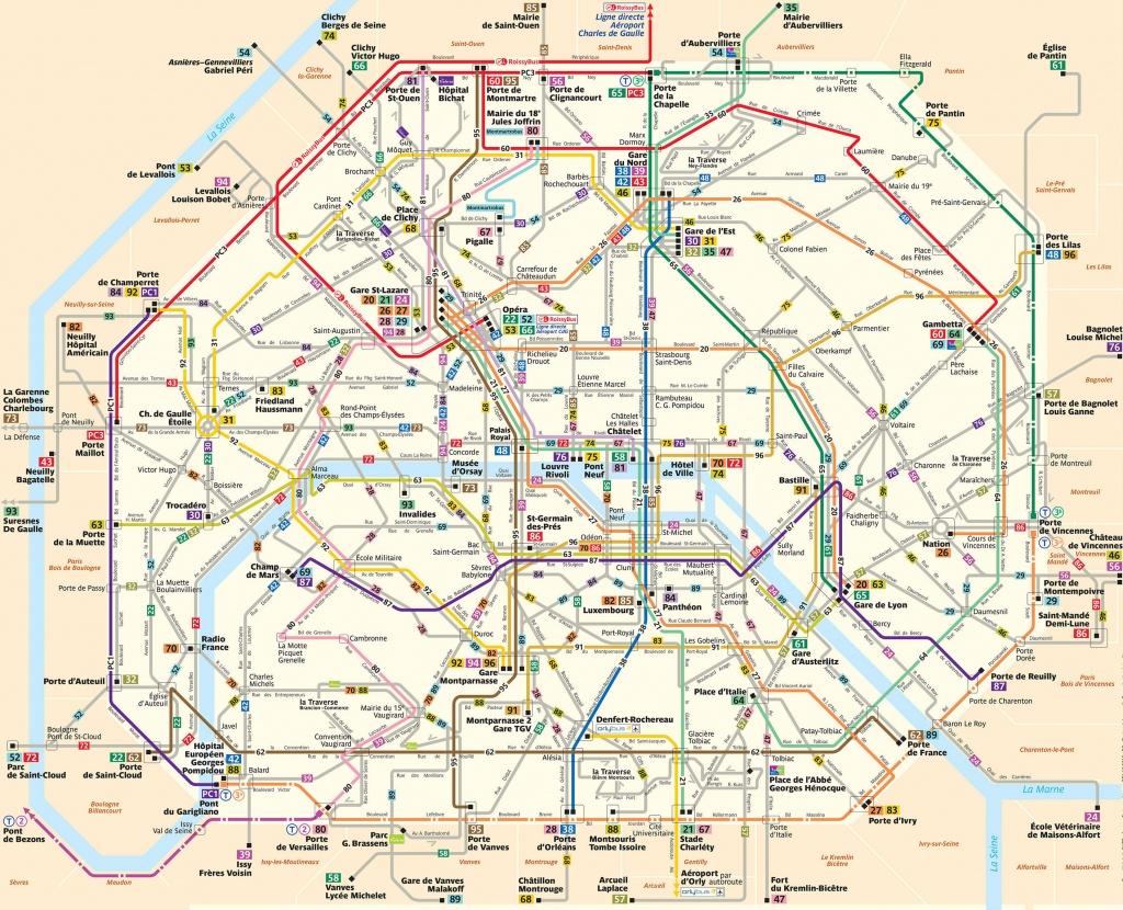 Paris Attractions Map Pdf - Free Printable Tourist Map Paris, Waking - Printable Map Of Paris France
