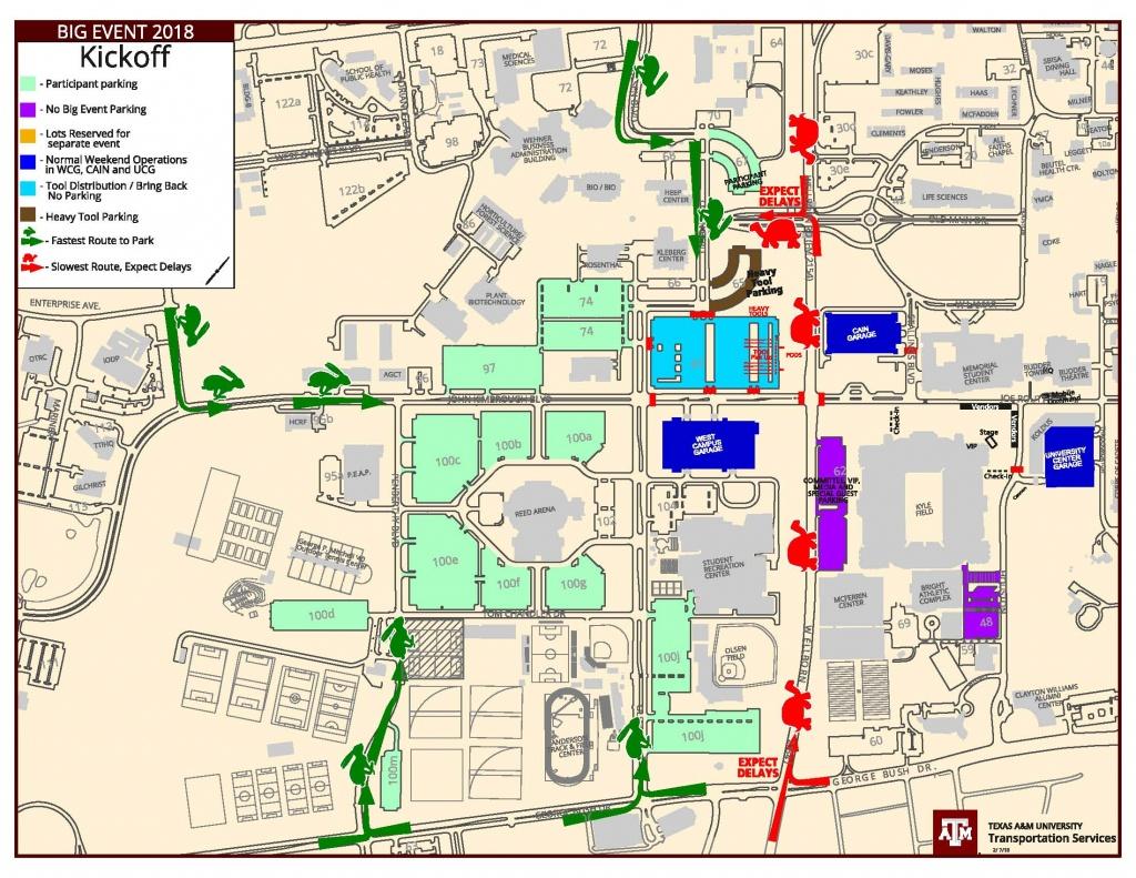 Parking Map Tamu | Dehazelmuis - Texas A&m Parking Lot Map