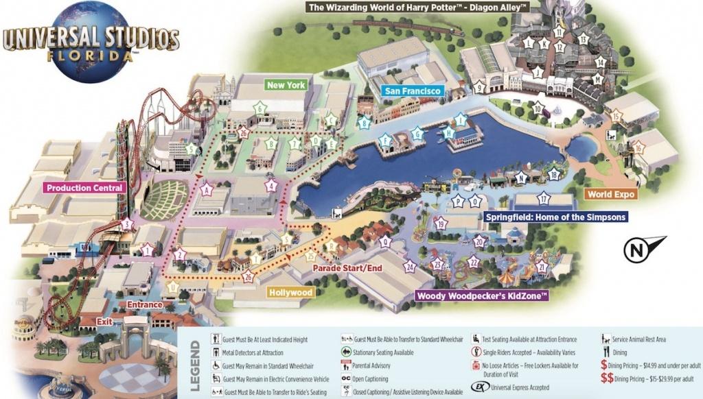 Part 135 Ageorgio - Universal Studios Florida Map 2018