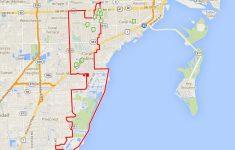 Coral Gables Florida Map