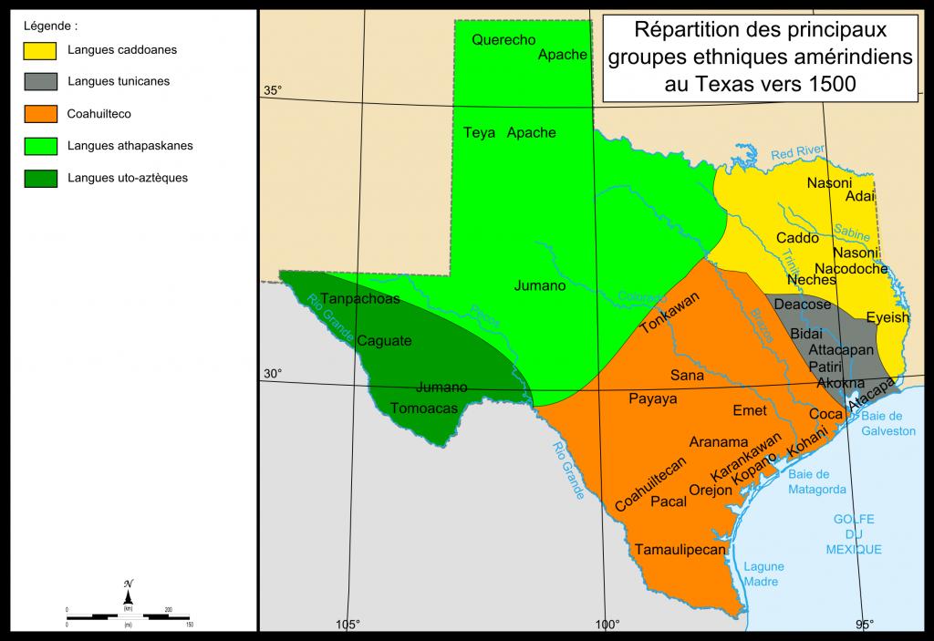 Payaya People - Wikipedia - Texas Indian Tribes Map