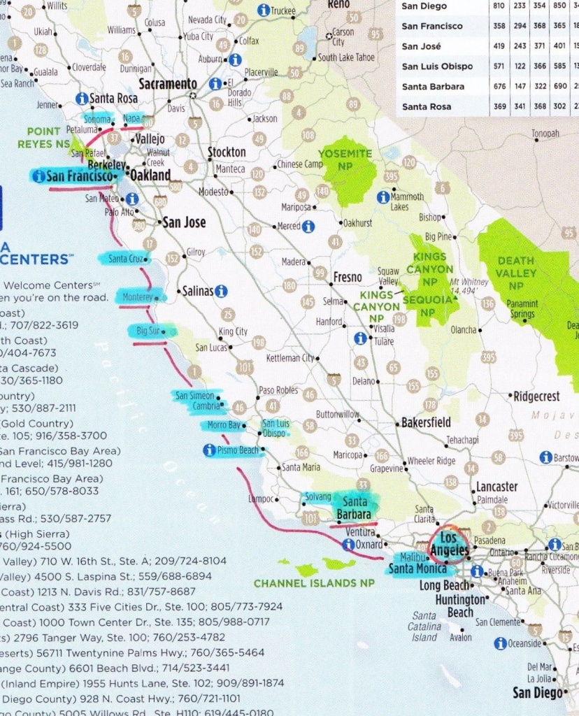Pch Roadtrip Hits   Ca Road Tripmany Years Away   West Coast Road - California Pacific Coast Highway Map