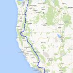 Pct Map | Warrior Expeditions   Pct Map California