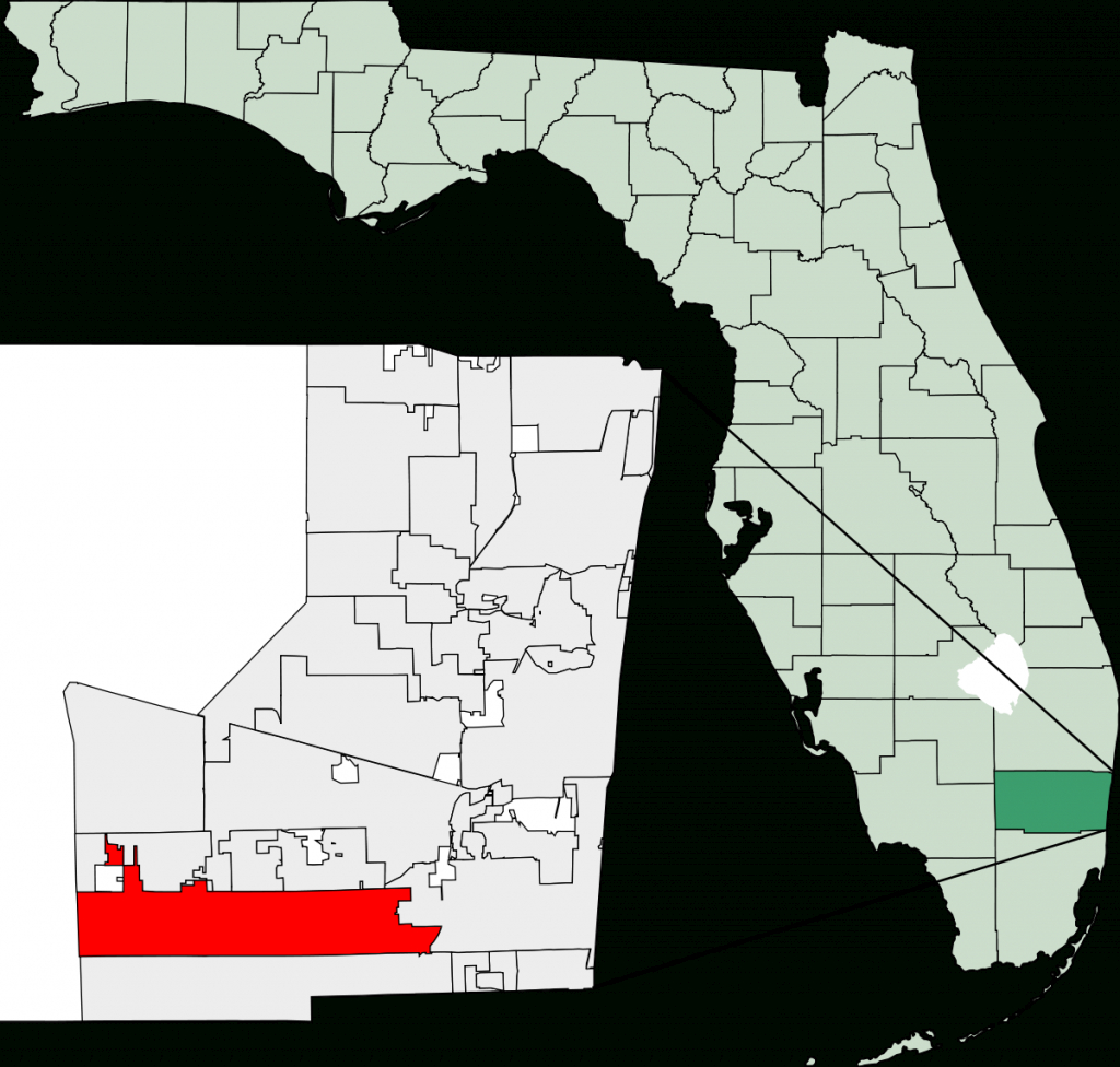Pembroke Pines, Florida - Wikipedia - Pembroke Pines Florida Map