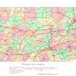 Pennsylvania Printable Map   Pa County Map Printable