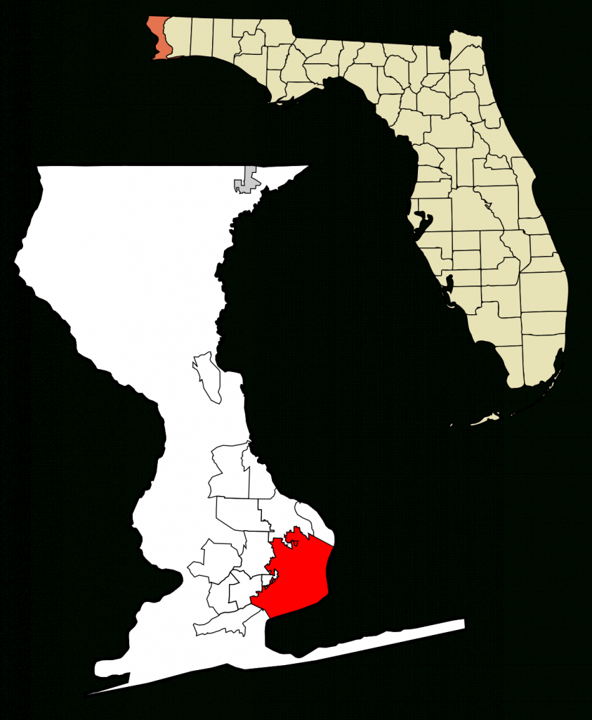 Pensacola, Florida - Wikipedia - Where Is Pensacola Florida On A Map