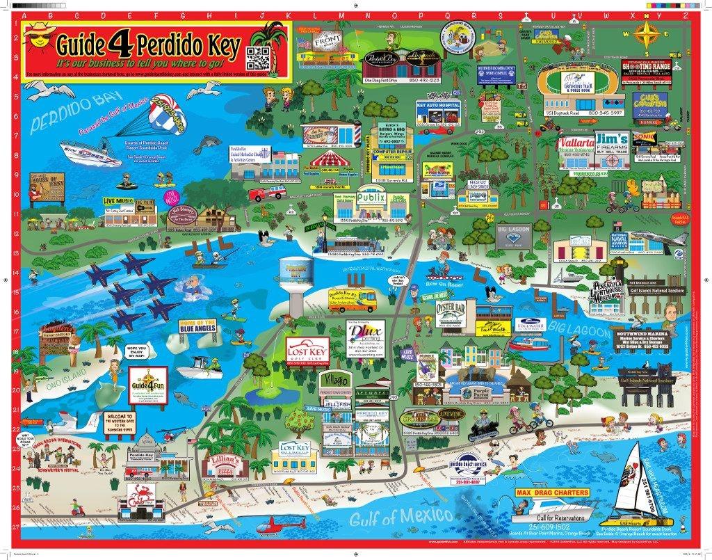 Perdido Key Orange Beach Things To Do | Maps | - Orange Beach Florida Map