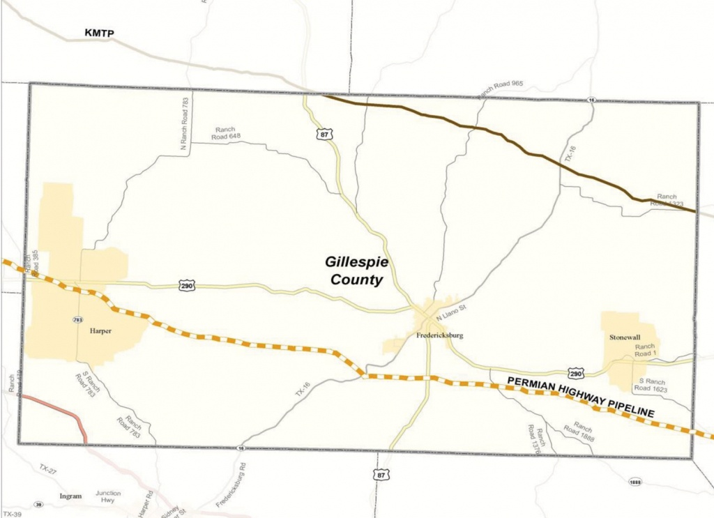 Permian Highway Pipeline | Braun & Gresham, Pllc. - Driving Map Of Texas Hill Country