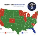 Permit To Carry Maps | Mn Firearms Training   Florida Reciprocity Concealed Carry Map