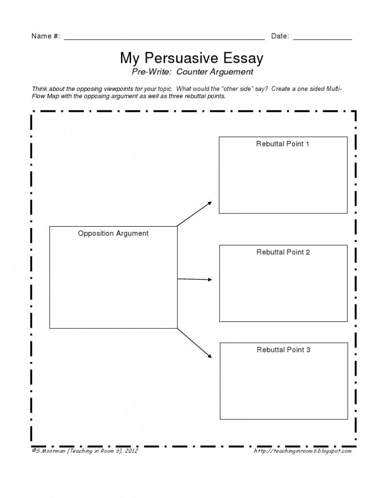 Persuasive Writing Thinking Maps (Free Printables) + Lesson Plan On - Printable Thinking Maps